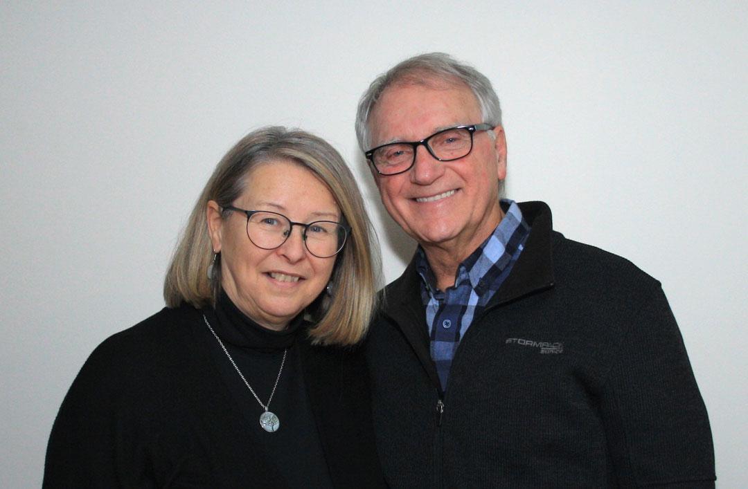 Serge Roy pasteur de lACM de Lévis et son épouse Marlène